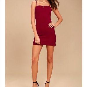 Lulus Toast to Life Red Mini Dress